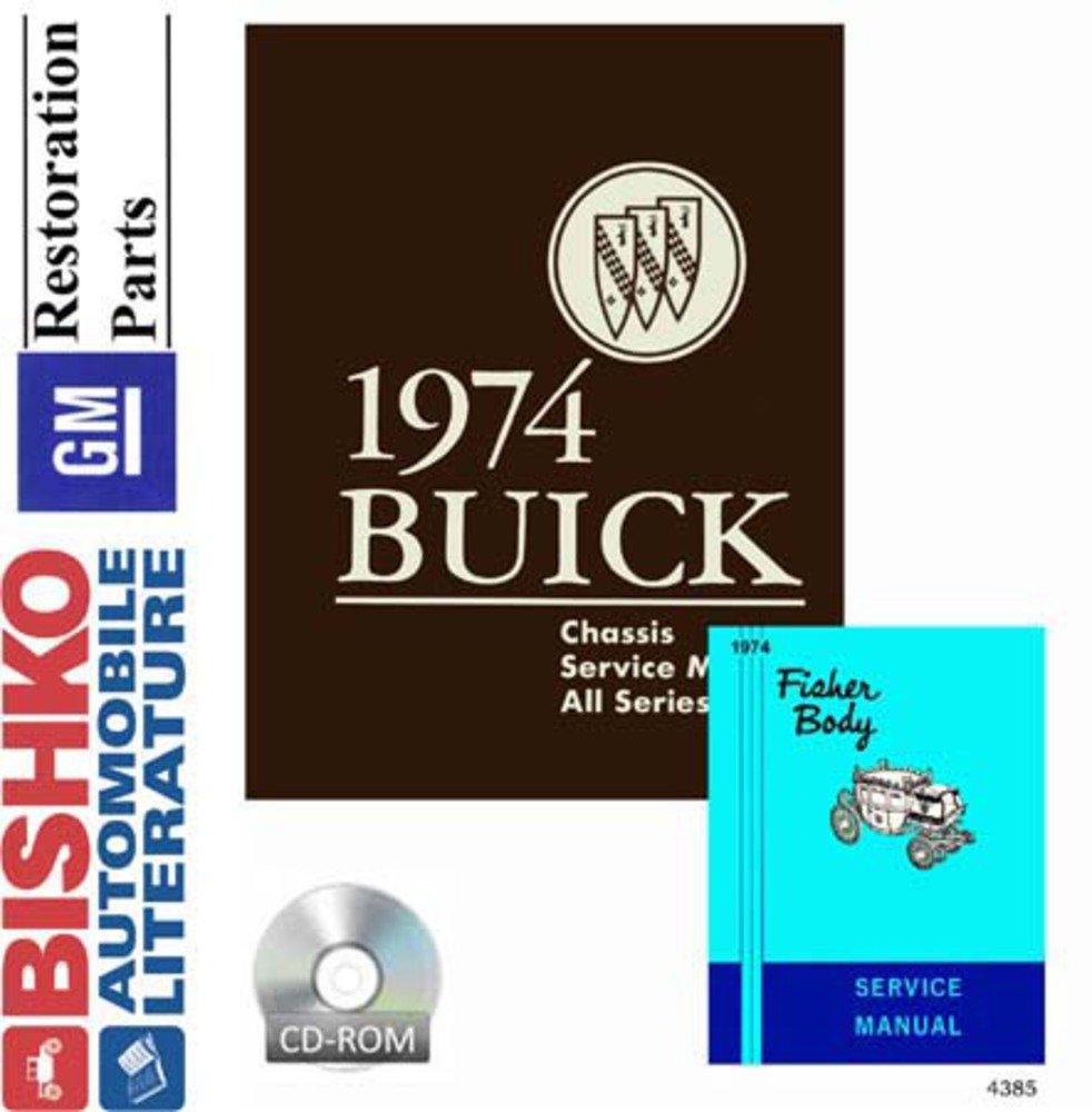 Amazon.com: 1974 Buick Apollo Century Electra Wagon Shop Service Repair  Manual CD Engine: Automotive