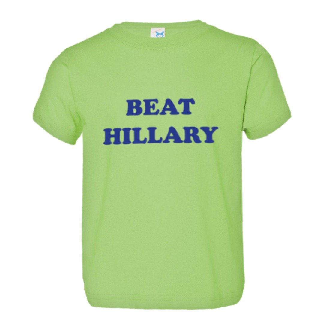 Toddler Beat Hillary Clinton 2016 Trump Support HQ Tee Shirt