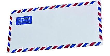 Mailmedia - Sobres para carta por correo aéreo, DIN largo ...