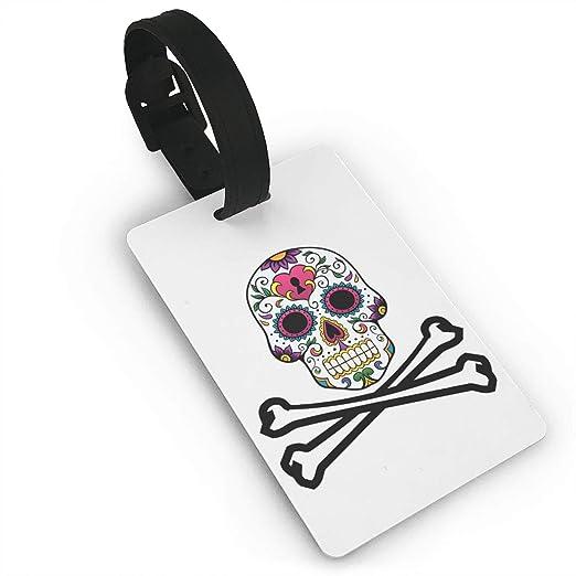 BJQingCheng Mini Etiqueta de Equipaje Bandera Pirata de ...