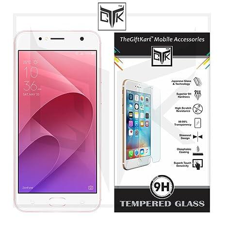 TheGiftKart HD Tempered Glass Screen Protector for Zenfone 4 Selfie  ZB553KL  Maintenance, Upkeep   Repairs