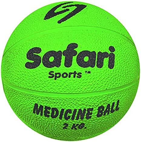 Safari pelota medicinal (1 kg, 2 kg, 3 kg, 4 kg, 5 kg): Amazon.es ...