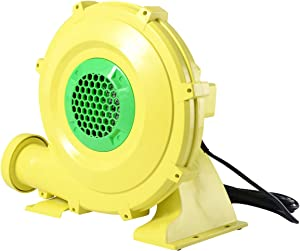 HONEY JOY Air Blower, 950 Watt 1.25 HP Commercial Blower Pump Fan for Inflatable Bounce House, Bouncy Castle