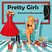 Pretty Girls Artwork by Mausopardia 2016: Pretty Girls, artwork in retro style of the 50s and 60s
