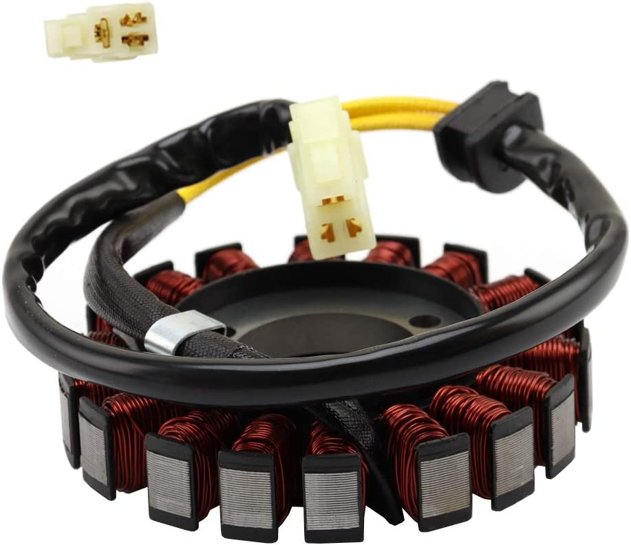 Magneto Stator Coil Fits for Suzuki GSX-R 600 GSX-R 750 2006-2015 Compatible with OEM 31401-01H00 31401-01H10 31401-01H20