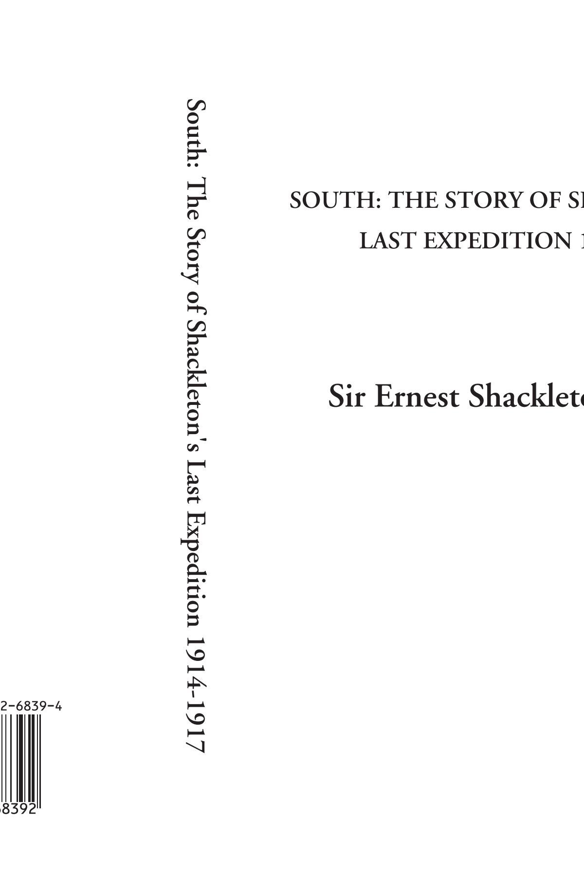 Download South: The Story of Shackleton's Last Expedition 1914-1917 PDF