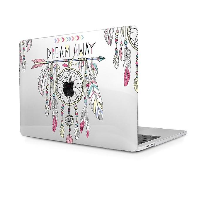 Funda MacBook Air 13, Funda Dura Carcasa protector de plástico para MacBook Air 13,3 Pulgadas A1466/A1369 (Atrapasueños)