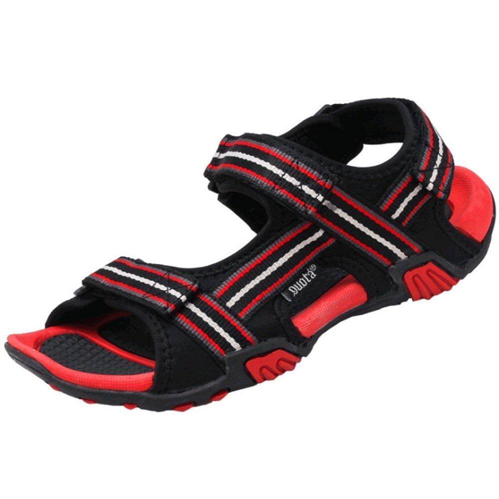 Sandalias Sandalias Antideslizantes para Deportes Al Aire Libre para Hombres Zapatos Ocasionales Respirables 42 2/3 EU Rojo