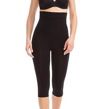 65d95f3ee805e0 FarmaCell 323 (Black, S/M) Women's Compression Anti-Cellulite Capri Leggings