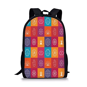 Amazon.com  iPrint School Bags Yoga 7f14bdc31587a
