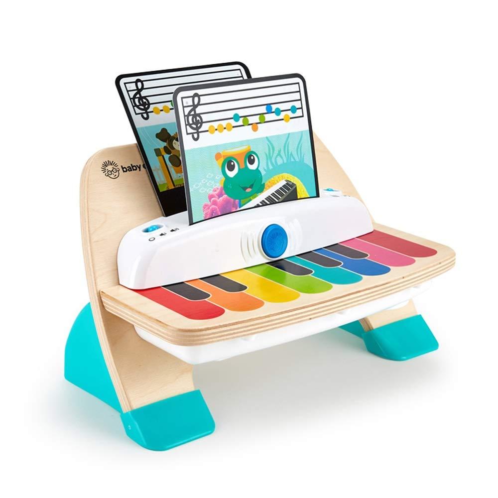 LINRUI-TOY スマートタッチ電子ピアノの男性と女性の赤ちゃん早期教育メロディリズム木製の子供の音楽教育玩具 (色 : マルチカラー まるちから゜)  マルチカラー まるちから゜ B07LGZYSYW