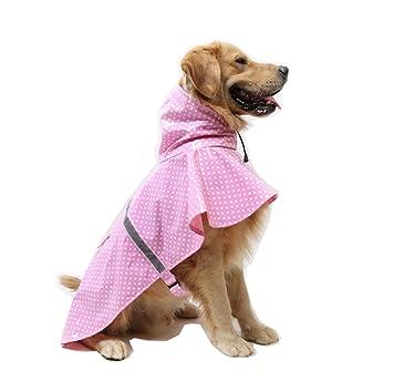 zoonpark® Gran Perro Ajustable chubasquero Poncho, Fashion ...