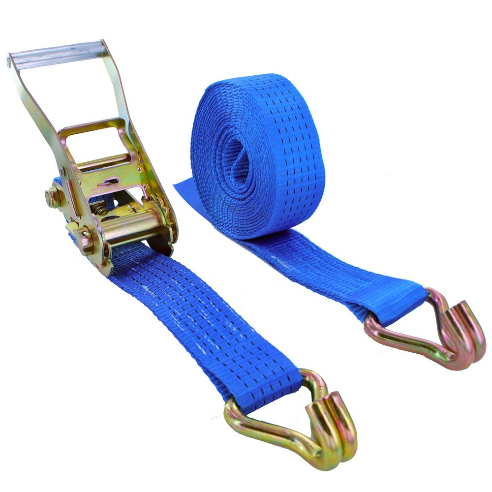 Ratchet Straps Tie Down 6 x 6 meter x 50mm Black 5 tons Claw Lashing Handy Strap