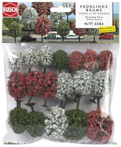 Busch 6584 Fruit Trees 18/N Scale Scenery Kit
