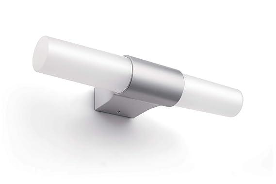 Philips 340341486 7.5-Watt LED Wall Light (Silver) Wall Lamps & Sconces at amazon