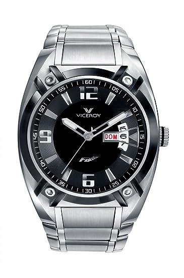 RELOJ VICEROY CABALLERO ACERO FERNANDO ALONSO REF:47565-55: Amazon.es: Relojes
