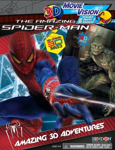 Bendon Spider Man 3D Movie Vision Book