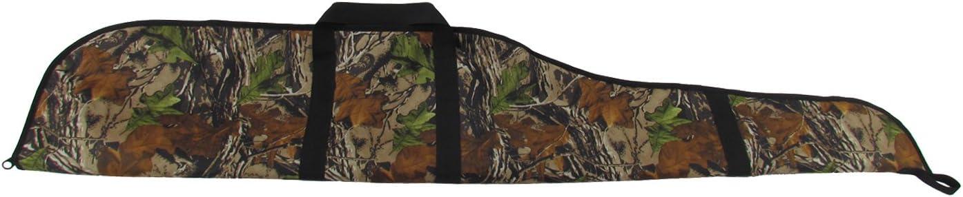 TOURBON - Funda para Pistola de Rifle táctica de Caza de Camuflaje de 56 Pulgadas de Nailon Acolchado para Cazador