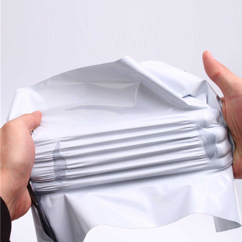 40 x 50cm undurchsichtig logei/® 100St Folienversandtaschen Plastikversandbeutel Versandbeutel Warenbeutel Versandtasche