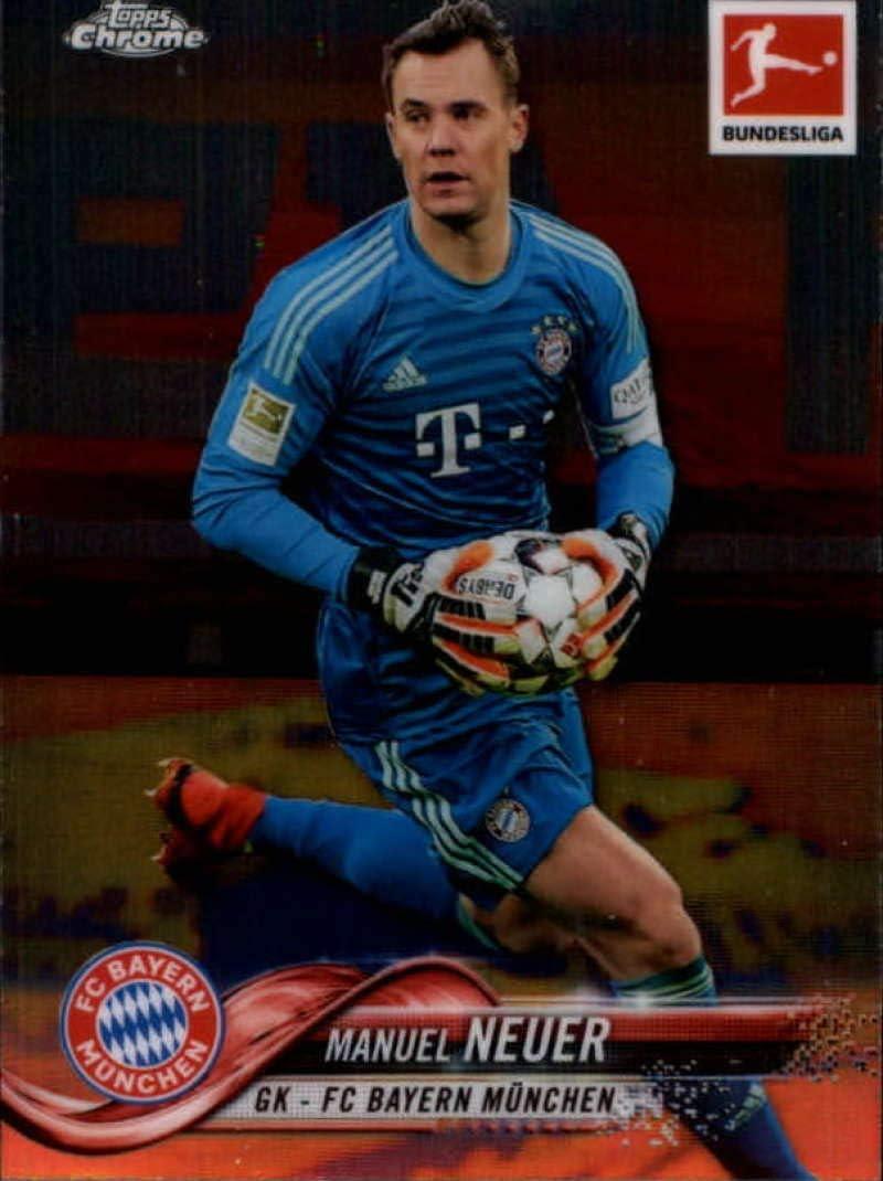 Manuel Neuer Topps Bundesliga Chrome 13//14-152