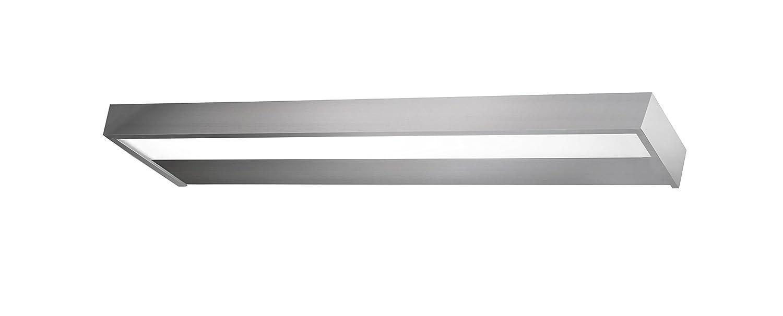 Pujol Iluminació n Iris Aplique LED para el bañ o, 34 W, Blanco, 60 cm Pujol Iluminación
