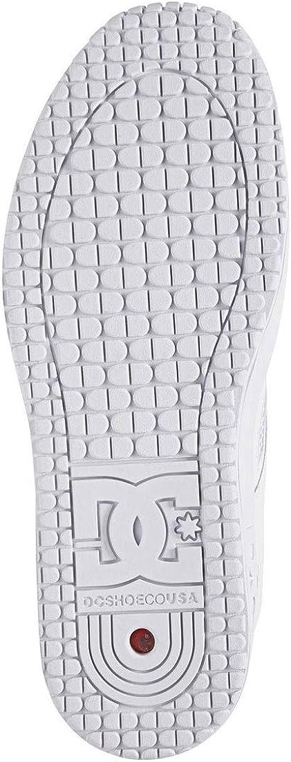ww0 10.5 DC Shoes Mens Lynx OG Skate Low Top Sneaker Shoes White//White