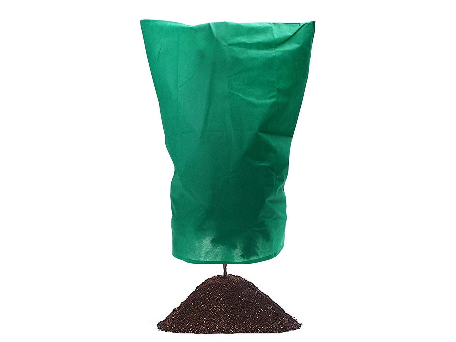 Plant Cover Frost Protection Bag from Being Damaged,Bad Weather Pests,Winter Wrap Warm Worth Frost Blanket Drawstring Bag for Flowers Shrubs Trees plant,Multiple, 30g thin Blanketswarm