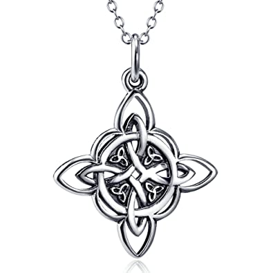 Silver Mountain 925 Sterling Silver Triquetra Trinity Celtic Knot