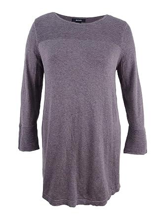 0c48afffb6 Alfani Ribbed Tunic Sweater at Amazon Women s Clothing store