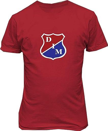 GNKJYY-T Deportivo Independiente Medellin Futbol Colombia Hombre Algodón Manga Corta Camisetas: Amazon.es: Ropa y accesorios
