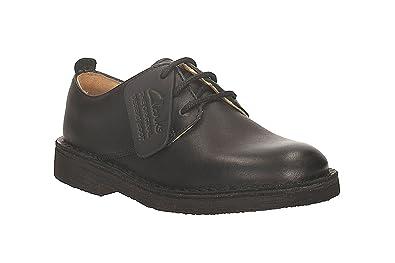 6cad343a975aa Clarks Enfant Noir Desert London Chaussures-UK 12 Kids  Amazon.fr ...