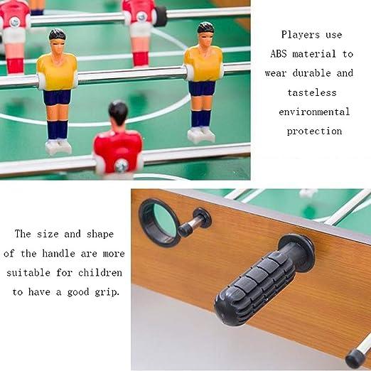 LiPengTaoShop Futbolín Mesa De Fútbol De Madera Máquina De Los Niños Computadora De Escritorio De Fútbol Máquina De Juguete Mesa Grande para Adultos De Fútbol De Entretenimiento: Amazon.es: Hogar
