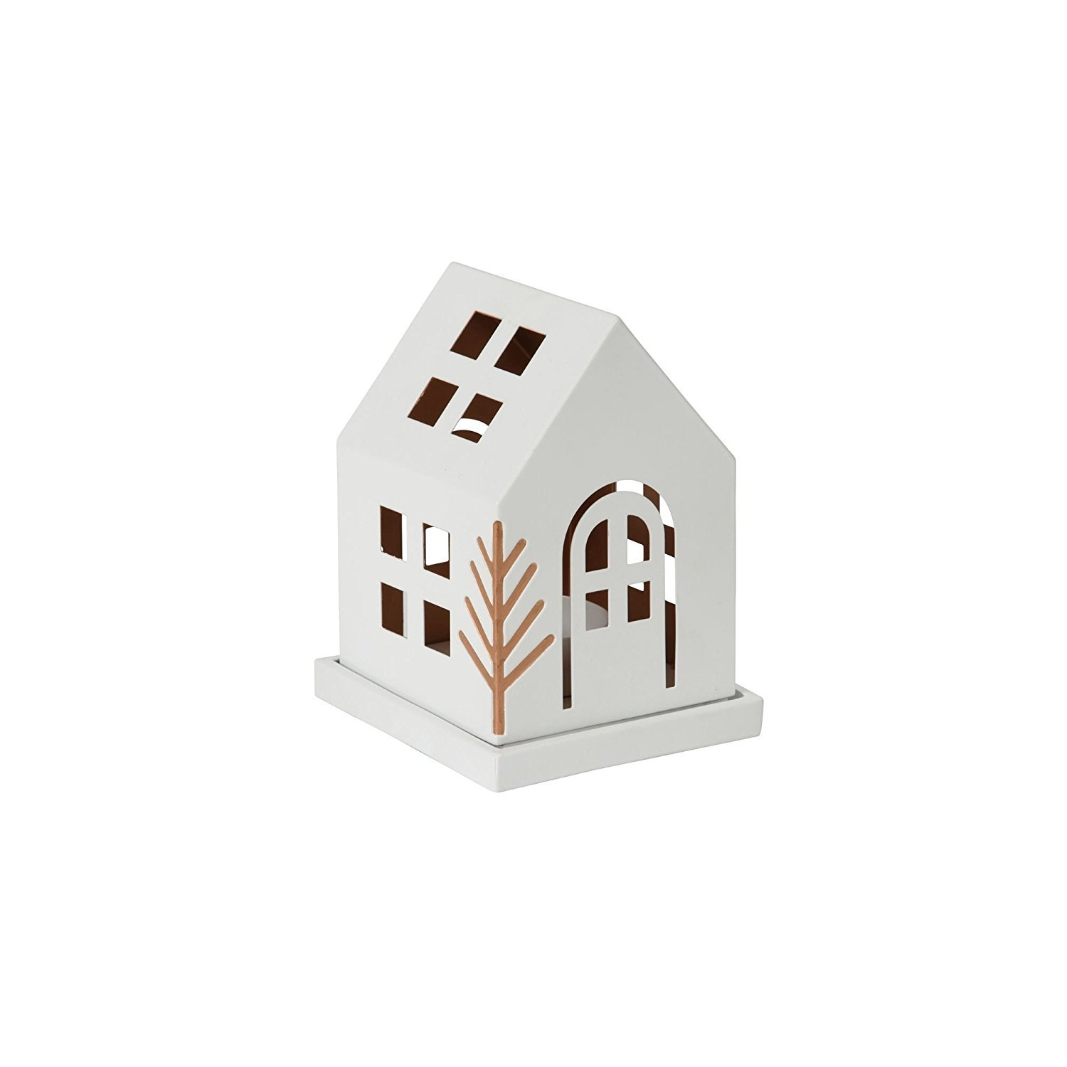 Yankee Candle Small 'Village' Luminary Christmas Candle Holder