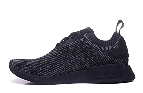 59761a862 Adidas Originals NMD R1 PK Primeknit Pitch Black Mens S80489 US8.5(EU42)   Amazon.ca  Shoes   Handbags