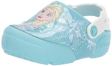 6e97f7f5985c78 Crocs Kids  Fun Lab Frozen Elsa Light-Up Clog