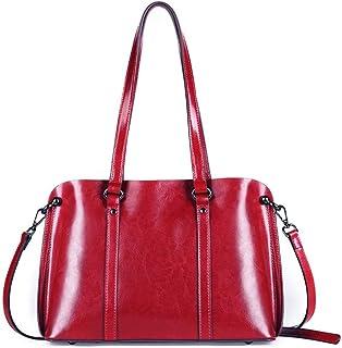 DaDongLL les femmes des sacs mortuaires, cuir souple résistants à l'eau crossbody messager sac multi - zip poches sac pour dames,violet