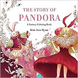 Amazon.com: The Story of Pandora: A Fantasy Coloring Book ...