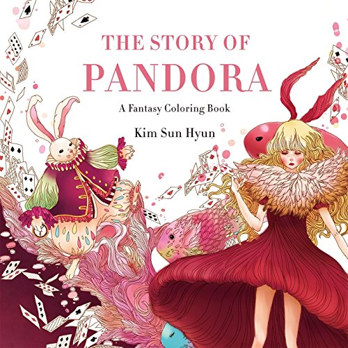 The Story of Pandora: A Fantasy Coloring Book