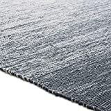 Chesapeake Cotton Ombre Blue Area Rug Large