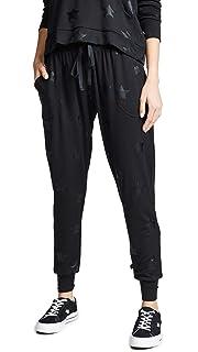 0a3722cb Terez Women's Foil Printed Jogger at Amazon Women's Clothing store: