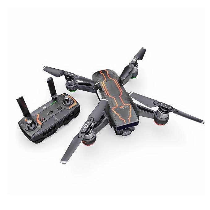 V08 Starfighter calcomanía para dron dji Spark Kit - Incluye Piel ...