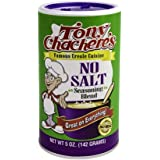 Tony Chachere's No Salt Seasoning Blend, 5 Ounce Shaker