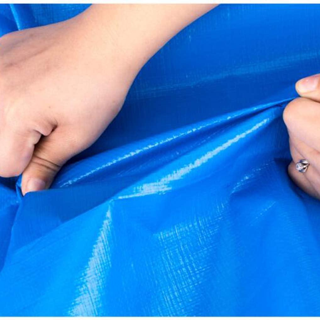 Copertura In Tela Cerata Impermeabile Resistente Multiuso Blu Copertura In Tela Cerata Angoli Rinforzati Con Anelli Di Tenuta Per Campeggio Coperture E Protezione Dagli Agenti Atmosferici Tende