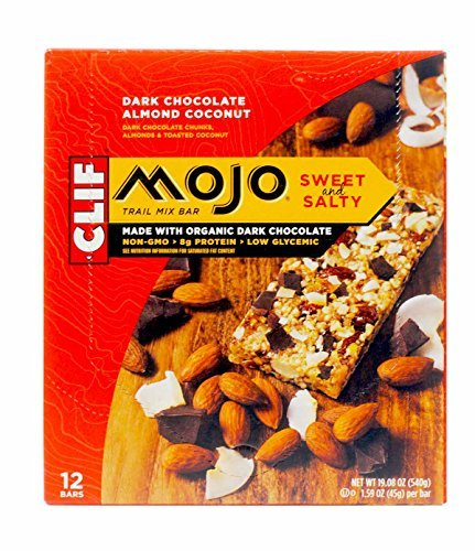 Clif Bar Trail Mix Bar, Dark Chocolate Almond Coconut, 12 ct ()