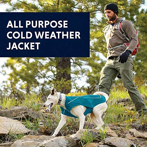 RUFFWEAR - Overcoat Fleece Lined Water Resistant Cold Weather Jacket for Dogs, Twilight Gray, Small by RUFFWEAR (Image #8)