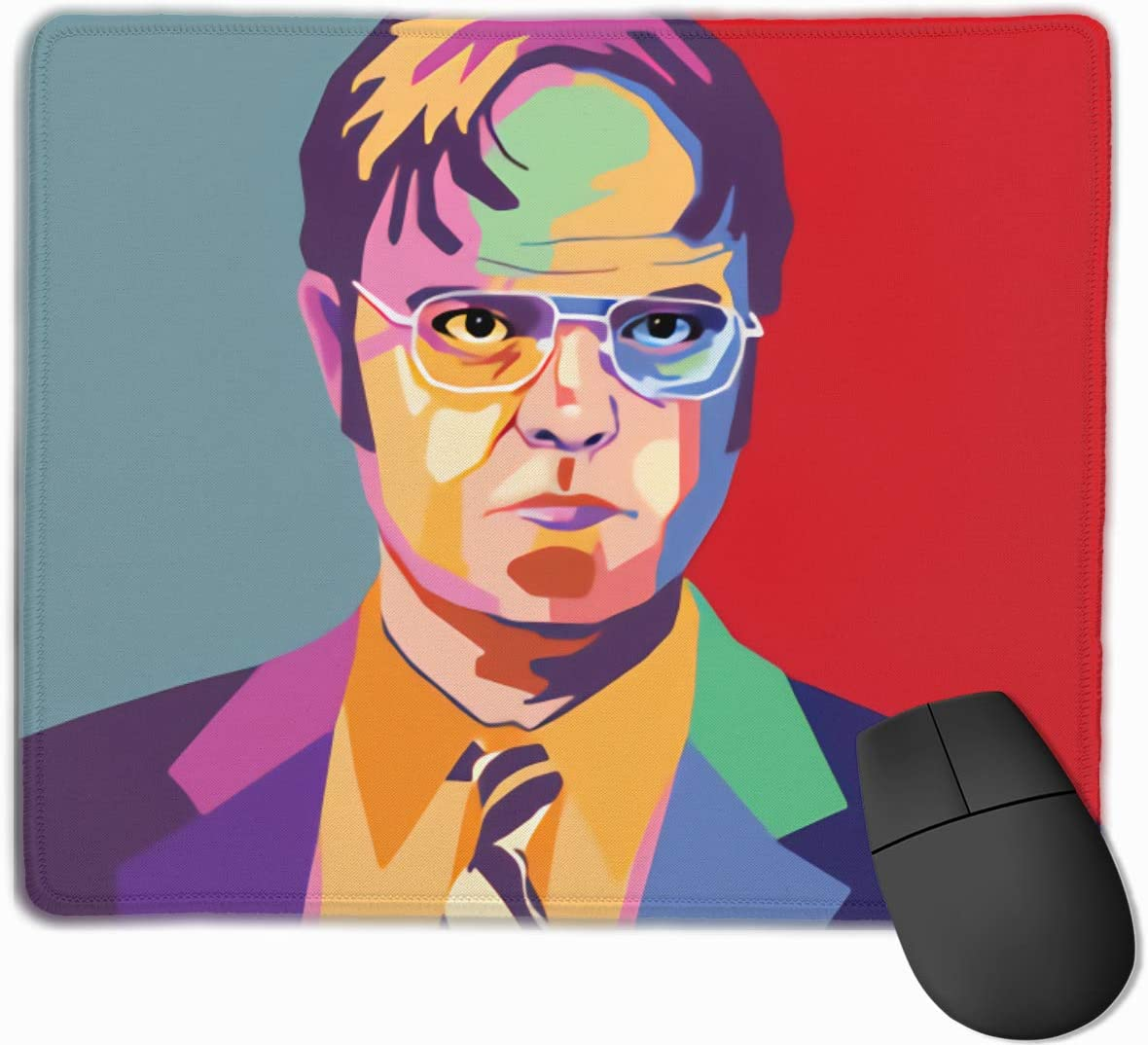 Dwight Schrute Office Desk Accessories Mouse Pad Office Decor Office Gifts Desk Decor