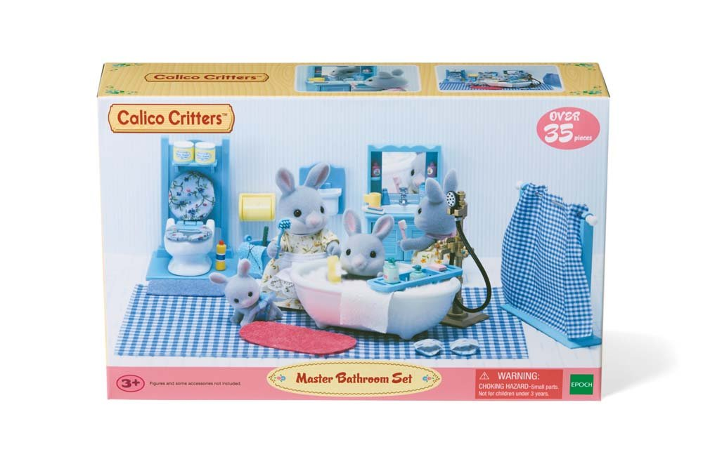 Calico Critters Master Bathroom Set Amp Accessories Home