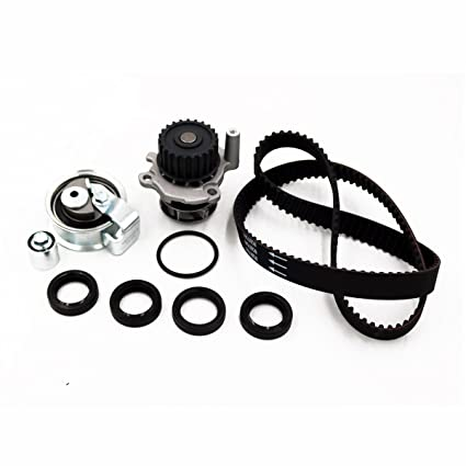 Amazon.com: Timing Belt Kit Water Pump Fits 2001 2002 2003 2004 2005 2006 Audi A4 Quattro Volkswagen VW Passat 1.8T TURBO DOHC AWM AMB TBK306A: Automotive