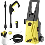 Rrtizan Pressure Washer 2030 MAX PSI 1.76 GPM Electric Pressure Washer 1500W Cleaner Machine with Adjustable Nozzle…