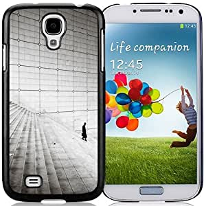 New Personalized Custom Designed For Samsung Galaxy S4 I9500 i337 M919 i545 r970 l720 Phone Case For Business Man Walking On The Stairs Phone Case Cover